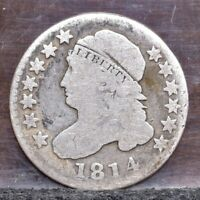 1814 BUST DIME - LARGE DATE - VG 21031