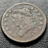 1810 LARGE CENT CLASSIC HEAD ONE CENT 1C CIRCULATED 8743