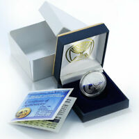 ISRAEL 1 SHEKEL INDEPENDENCE DAY 60 TH ANNIVERSARY PROOF LIK