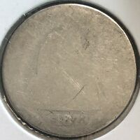 1873 S SEATED LIBERTY DIME 10C CIRCULATED  KEY DATE SAN FRANCISCO 12410