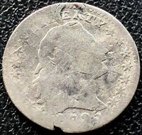 1795 FLOWING HAIR HALF DIME 5C   EARLY DATE 15503