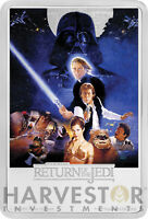 2017 STAR WARS THE RETURN OF THE JEDI POSTER COIN   1 OZ. SI