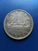 1936 CANADIAN SILVER DOLLAR  $1  NO RESERVE