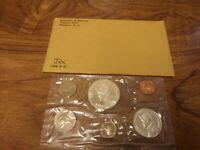 1966 PANAMA 6 COIN PROOF SET : WITH SILVER 1 BALBOA COIN