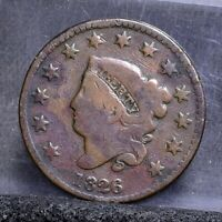1826 LARGE CENT - GOOD DETAILS 22113