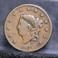 1835 LARGE CENT - SMALL 8 - GOOD 22119