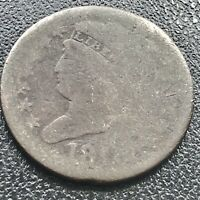 1809 CLASSIC HEAD HALF CENT 1/2 CENT CIRCULATED 17604