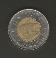 CANADA COIN TWO DOLLARS   TOONIES   1996