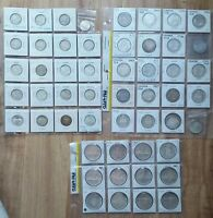 LOT OF NICE CANADA SILVER 25C 50C DOLLAR COIN LOT 1939 TO 19