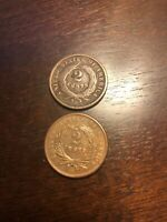 1864 UNITED STATES 2 CENTS 1ST COIN IN GOD WE TRUST ON US COIN AFTER CIVIL WAR