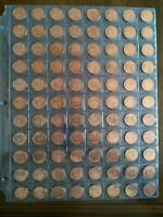 LOT OF 88 CANADIAN 1965 AU/UNC RED SMALL PENNY NO RESERVE