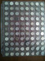 LOT OF 88 CANADIAN SILVER DIMES  10C  FROM 1967 1968 NO RESE