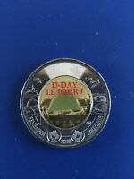2019 CANADIAN COLOURISED D DAY TOONIE  $2  NO RESERVE