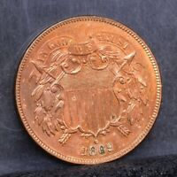 1869 TWO CENT PIECE - CH BU 23181