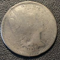 1797 LIBERTY CAP HALF CENT 1/2 FLOWING HAIR  EARLY DATE CIRCULATED 17039