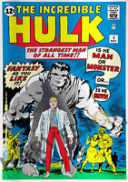 MARVEL COMICS   THE INCREDIBLE HULK 1   SILVER FOIL 1 OZ.   THIRD IN SERIES