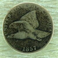 1857 FLYING EAGLE CENT PENNY COPPER NICKEL  CONDITION