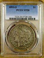 1893-O PCGS VF20 MORGAN DOLLAR