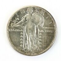 RAW 1926-D STANDING LIBERTY 25C CIRCULATED US SILVER QUARTER COIN