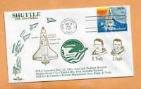 SHUTTLE USS COLUMBIA STS 2 NOV 12 1981 CAPE CANAVERAL    ORBIT SPACE COVER