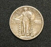 1920 STANDING LIBERTY QUARTER E.F.  ORIGINAL