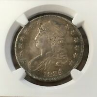 RARE HIGH GRADE 1834 CAPPED BUST HALF DOLLAR NGC AU58