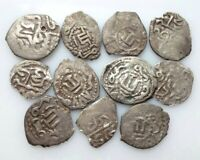 CR. KHANATE SILVER AKCHE IN THE LOT OF 11 PCS