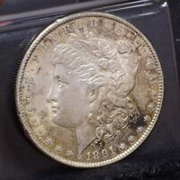 1891-S MORGAN DOLLAR - UNC DETAILS 24209