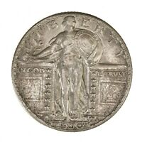 RAW 1930 STANDING LIBERTY 25C PHILADELPHIA US MINTED SILVER QUARTER COIN