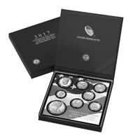 2017 S US MINT LIMITED EDITION SILVER PROOF 8 COIN SET ASW 2