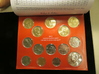 2012 P AND D US MINT UNCIRCULATED COIN SET J045
