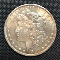 1896 MORGAN SILVER DOLLAR CIRCULATED,UNCERTIFIED AND UNGRADED