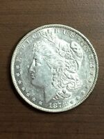 1878 - P PHILADELPHIA MINT $1 SILVER MORGAN DOLLAR REVERSE OF 1879