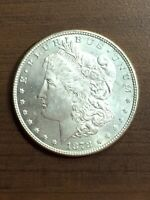 1878 - P 7 OVER 8 TAIL FEATHERS PHILADELPHIA MINT $1 SILVER MORGAN DOLLAR