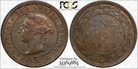 1898 H CANADA LARGE CENT PCGS MS 63 BN HIGH H 1C