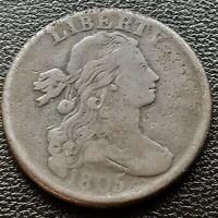 1805 DRAPED BUST LARGE CENT 1C BETTER GRADE VF  20709