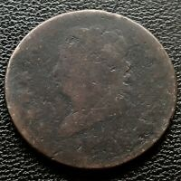 1808 LARGE CENT CLASSIC HEAD ONE CENT 1C  CIRCULATED 20712