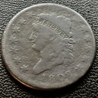 1808 LARGE CENT CLASSIC HEAD ONE CENT 1C  BETTER GRADE 20713