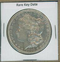 1898 S MORGAN DOLLAR $1 US MINT  KEY DATE SILVER COIN 1898-S HIGH GRADE