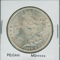 1888 P MORGAN DOLLAR $1 US MINT GEM PQ SILVER COIN 1888-P MS