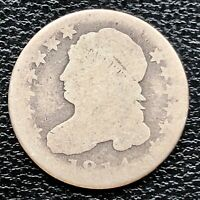1814 CAPPED BUST DIME 10C CIRCULATED 20845