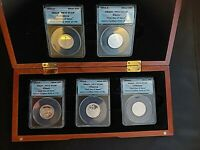 2011 S SILVER NATIONAL PARKS QUARTERS ANACS PR70  DCAM FIRST