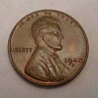1940 D LINCOLN WHEAT CENT / PENNY COIN  GOOD OR BETTER SHIPS FREE