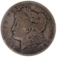RAW 1890-CC MORGAN $1 UNCERTIFIED UNGRADED US MINT SILVER DOLLAR COIN