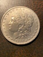 1880 O MORGAN SILVER DOLLAR 80/79
