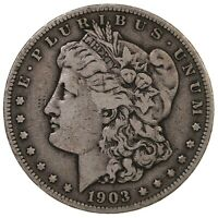 RAW 1903-S MORGAN $1 UNCERTIFIED UNGRADED SAN FRANCISCO MINT SILVER DOLLAR COIN