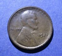 1923-S LINCOLN CENT VG/EXTRA FINE