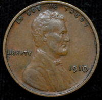 1910 P LINCOLN WHEAT CENT, PENNY, ALMOST UNCIRCULATED CONDITION, FREE SHIP C4480