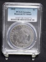 1802 BUST DOLLAR - PCGS VF DETAILS 25894