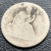 1838 SEATED LIBERTY DIME 10C CIRCULATED 21238